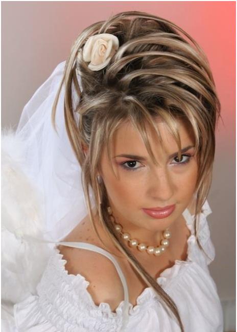 свадебные прически 8 903